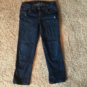 Women's size 4 cropped jeans